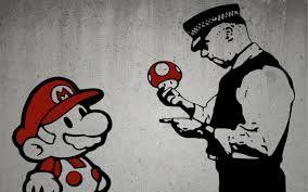 Immer schön sauber bleiben, Mario!