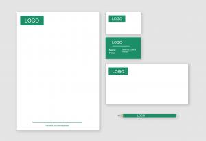 Beispiel für ein Corporate Design im Printbereich